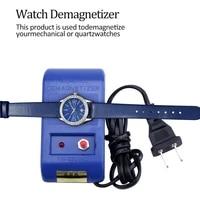 au eu plug type electrical perfect watch repair screwdriver tweezers demagnetise demagnetizer tools compass watch repair tool