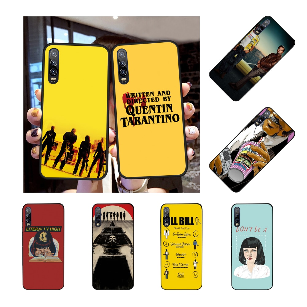 nbdruicai-written-directed-quentin-tarantino-phone-case-for-huawei-honor-10-9-8-8x-8c-9x-7c-7a-nova-3-3i-lite-y9-y7-y6