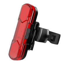 Велосипедные фонари с USB-зарядкой, светодиодсветодиодный сигнальные лампы, ночной велосипедный задний фонарь, Велоспорт, водонепроницаемы...