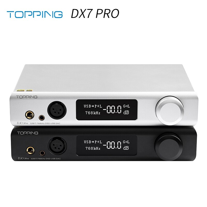 Topping Dx7 Pro Es9038pro Dac Headphone Amp Bluetooth 5 0 32bit 768khz Dsd1024 Dx7pro Wireless Decoder Headphone Amplifier Digital To Analog Converter Aliexpress