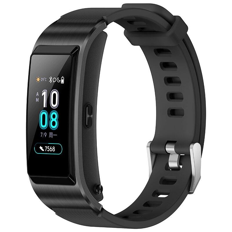 Original Huawei TalkBand B5 Width Bluetooth Smart Bracelet Sports Wristbands Touch AMOLED Screen Call Earphone Talk Band B5