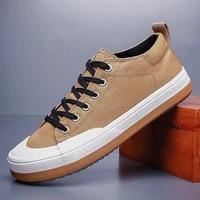monstceler mens canvas vulcanize shoes springautumn platform chunky sneakers round toe male designer flats bd21289
