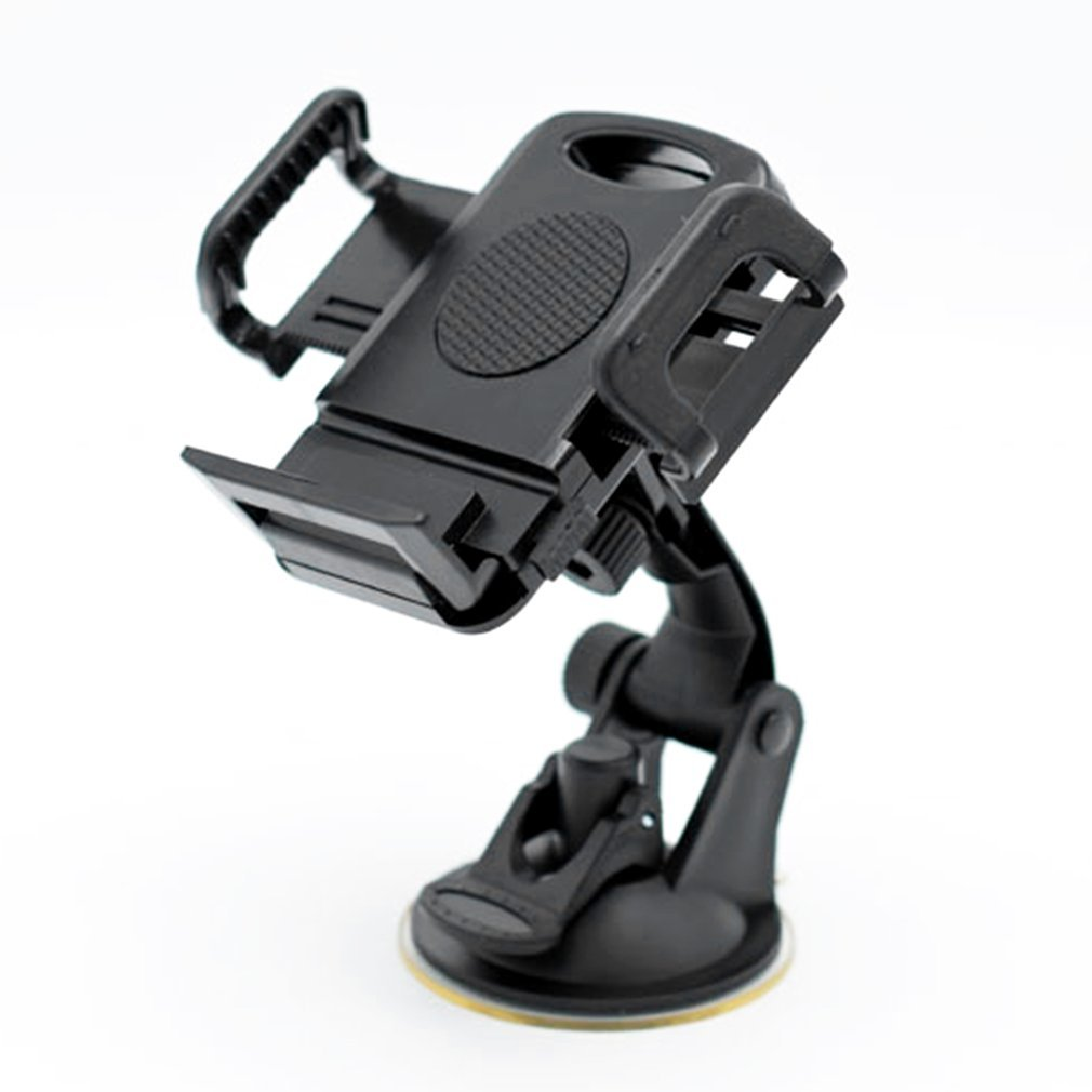 Soporte giratorio de 360 grados para teléfono inteligente GPS Universal para coche soporte de montaje ajustable para teléfono móvil de 3,5-6,5 pulgadas triangulación de envío