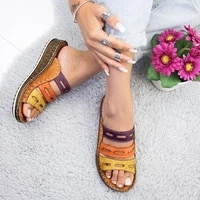 women fish mouth sandals sweet summer shoes woman sandals summer beach casual shoes with low heels platform sandals nvlx92