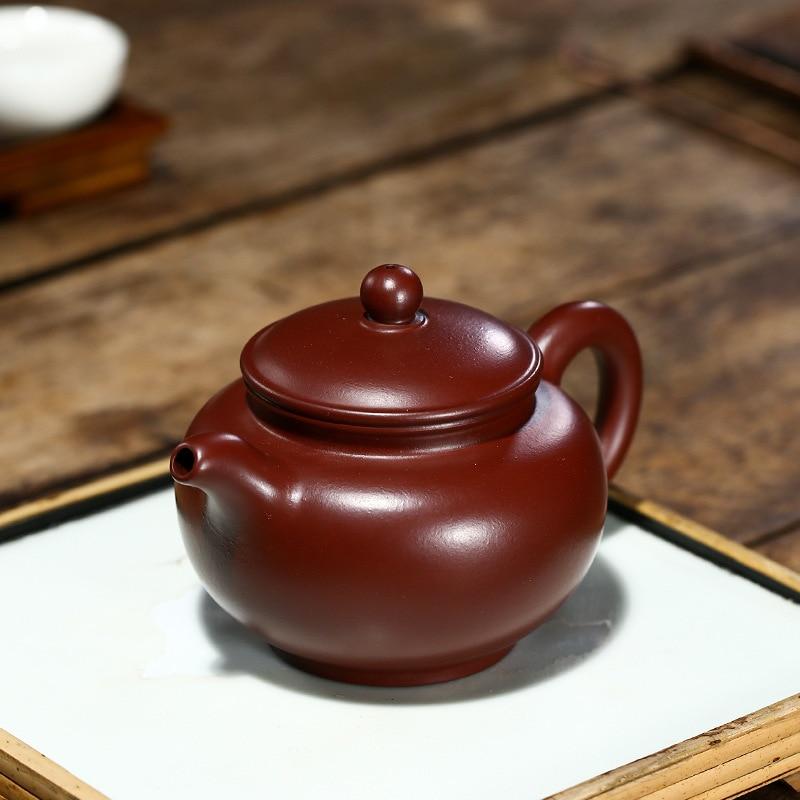 Yixing جودة عالية الأرجواني الأحمر الطين إبريق الشاي الكونغ فو طقم شاي Samovar الشاي Infuser الصينية براد شاي الصحة والعافية المنتجات