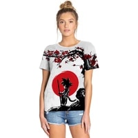 couples women men t shirt summer monkey king 3d digital printing loose o neck short sleeve harajuku tops