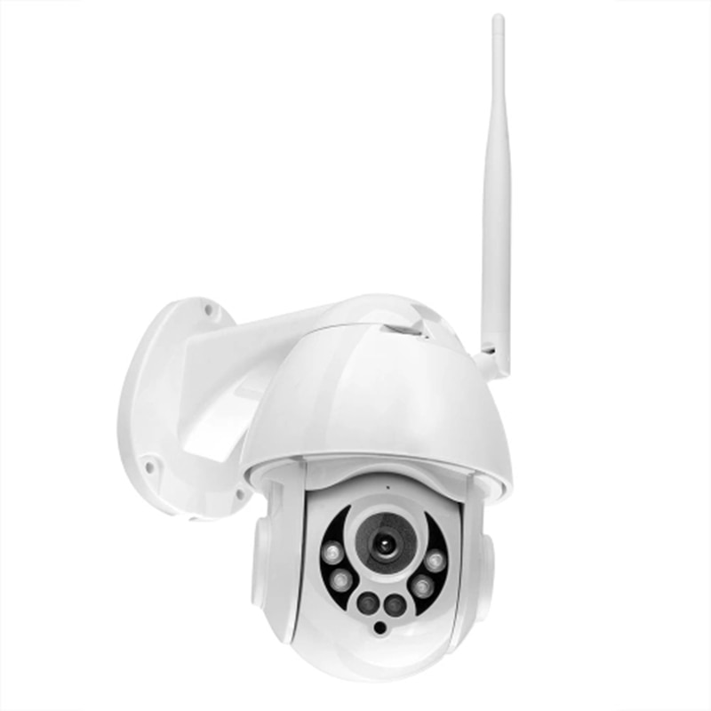 FFYY-K38D 1080P WiFi PTZ IP cámara de detección de la cara de seguimiento automático 4X Zoom de dos vías de Audio impermeable cámara de seguridad al aire libre