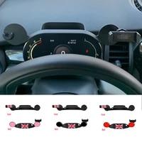 navigation bracket phone holder in car dashboard for mini cooper s jcw f54 f56 f55 f57 f60 2020 2021 car styling interior