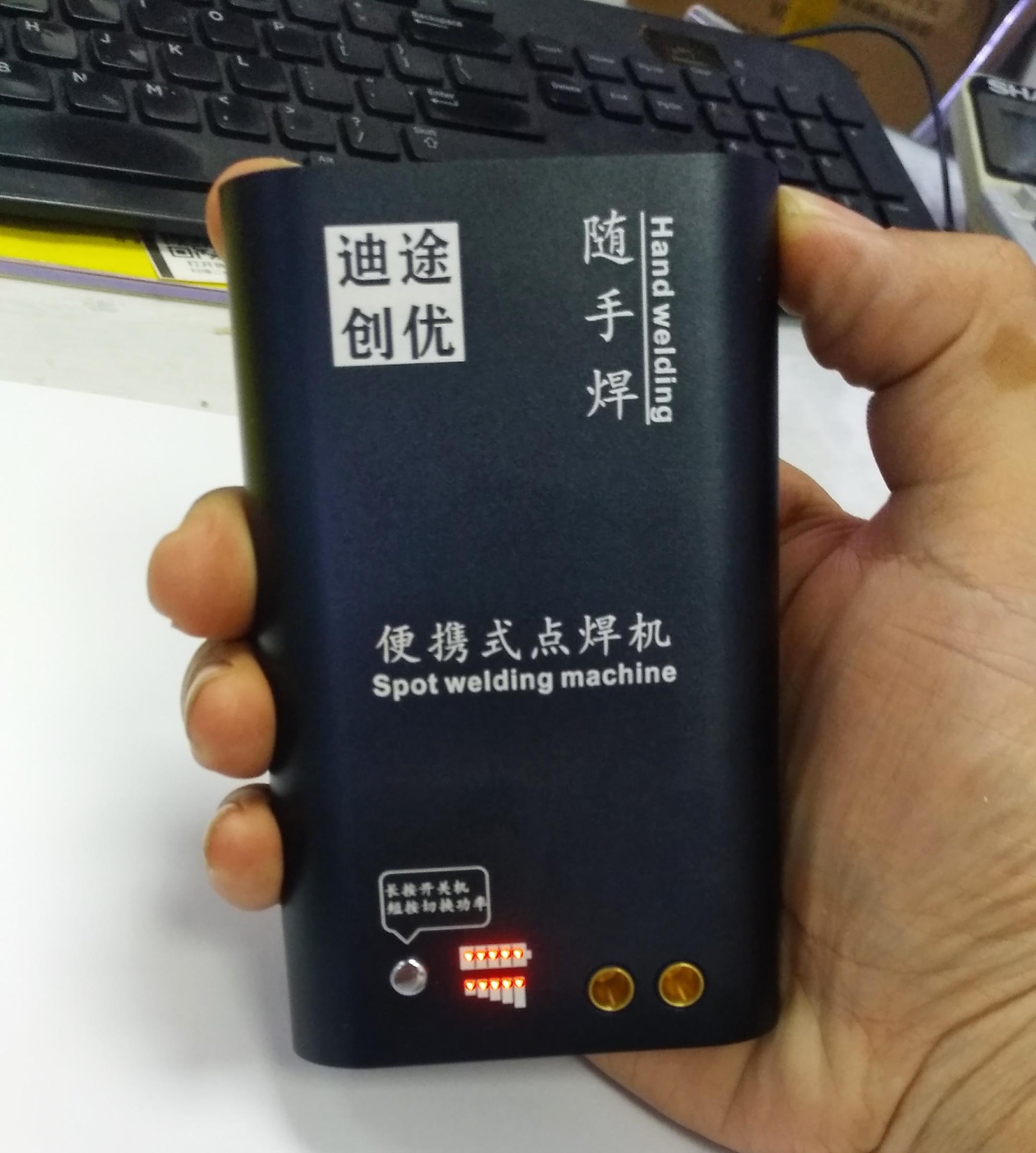 5V 2A 5000mA portable handheld small diy battery welder spot welding machine 18650 lithium battery repair nickel sheet kit enlarge