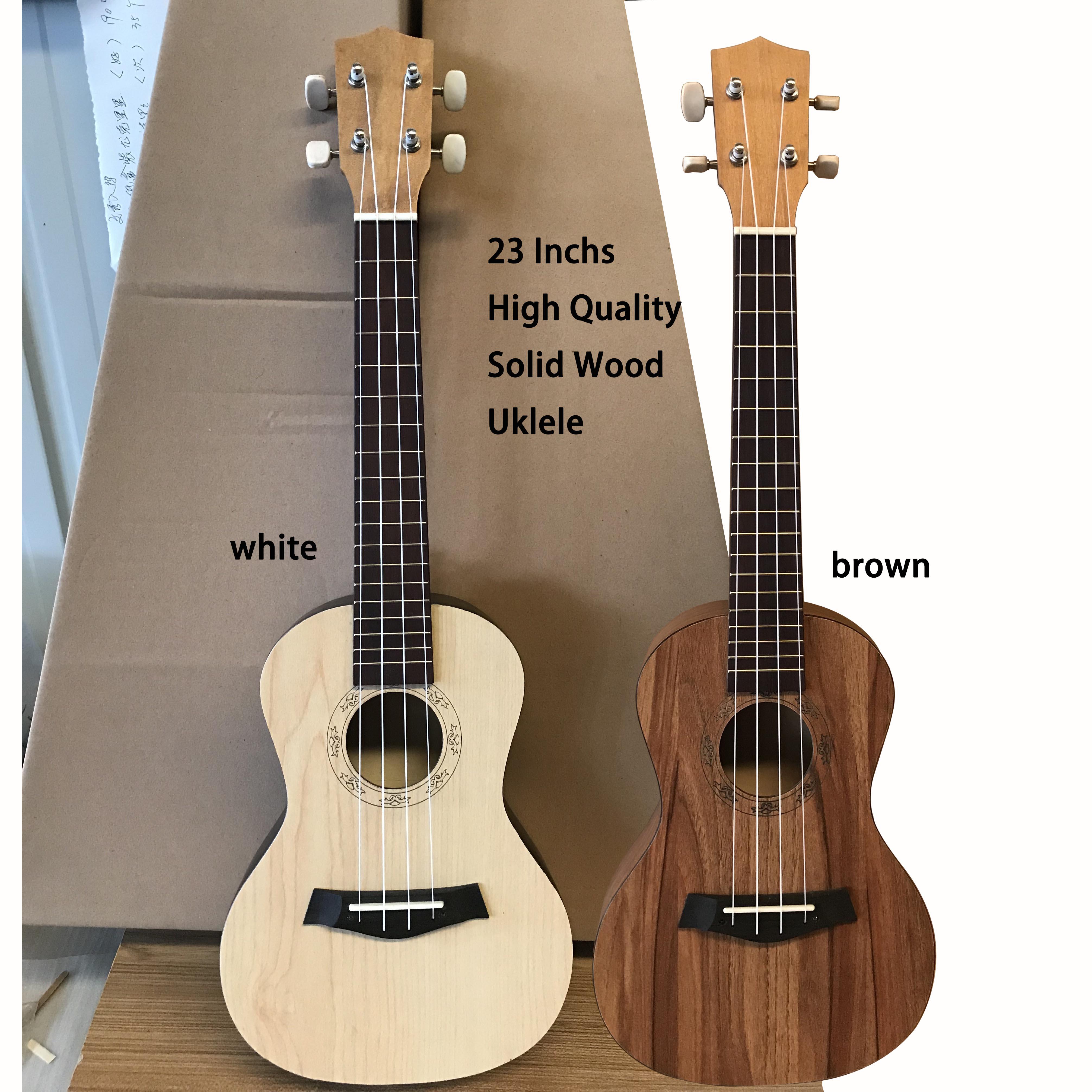 23inch Concert Ukulele Made of All Plywood Hawaii guitar Popular Wood Conerless 23inch little guitar light matte