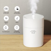 Humidificador de aire con USB, Humidificador difusor para aromaterapia, hidratante para oficina y escritorio humidificador, difusor de fragancia para habitación