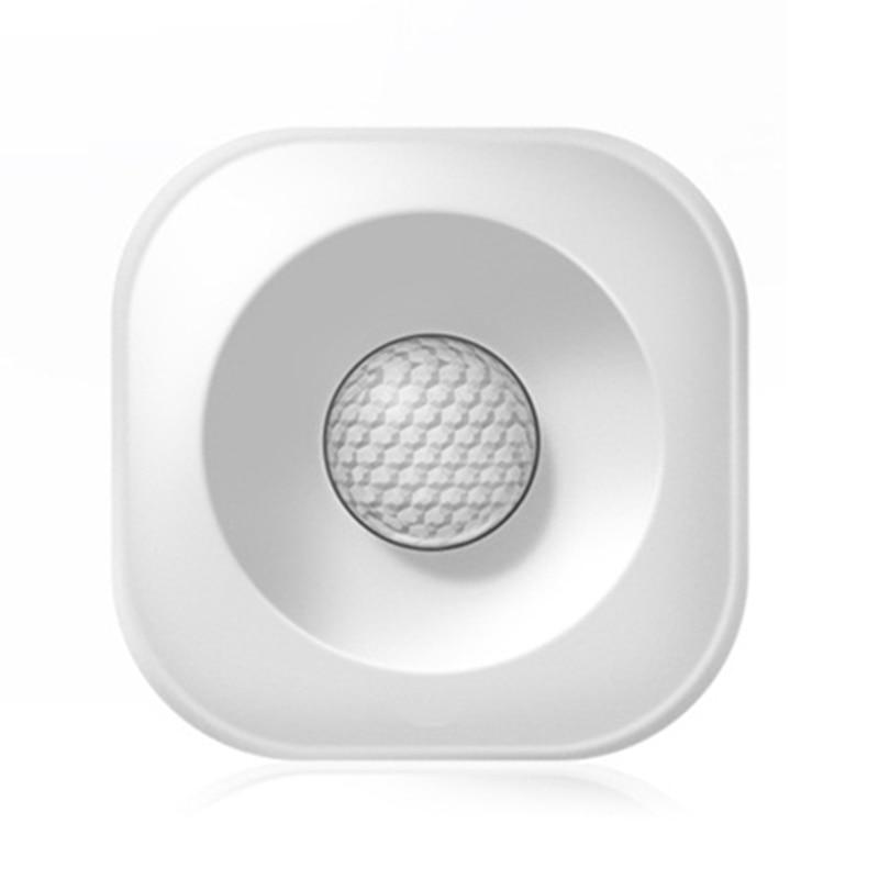 Высокоточный умный беспроводной Pir датчик движения Детектор Wifi умный охранный сигнализатор совместимый с Alexa Google