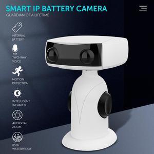 Wireless Camera 1080p 4x Zoom Low Power Wifi Voice Intercom Monitoring Camera 140° effectve sensing angle built-in micriphone