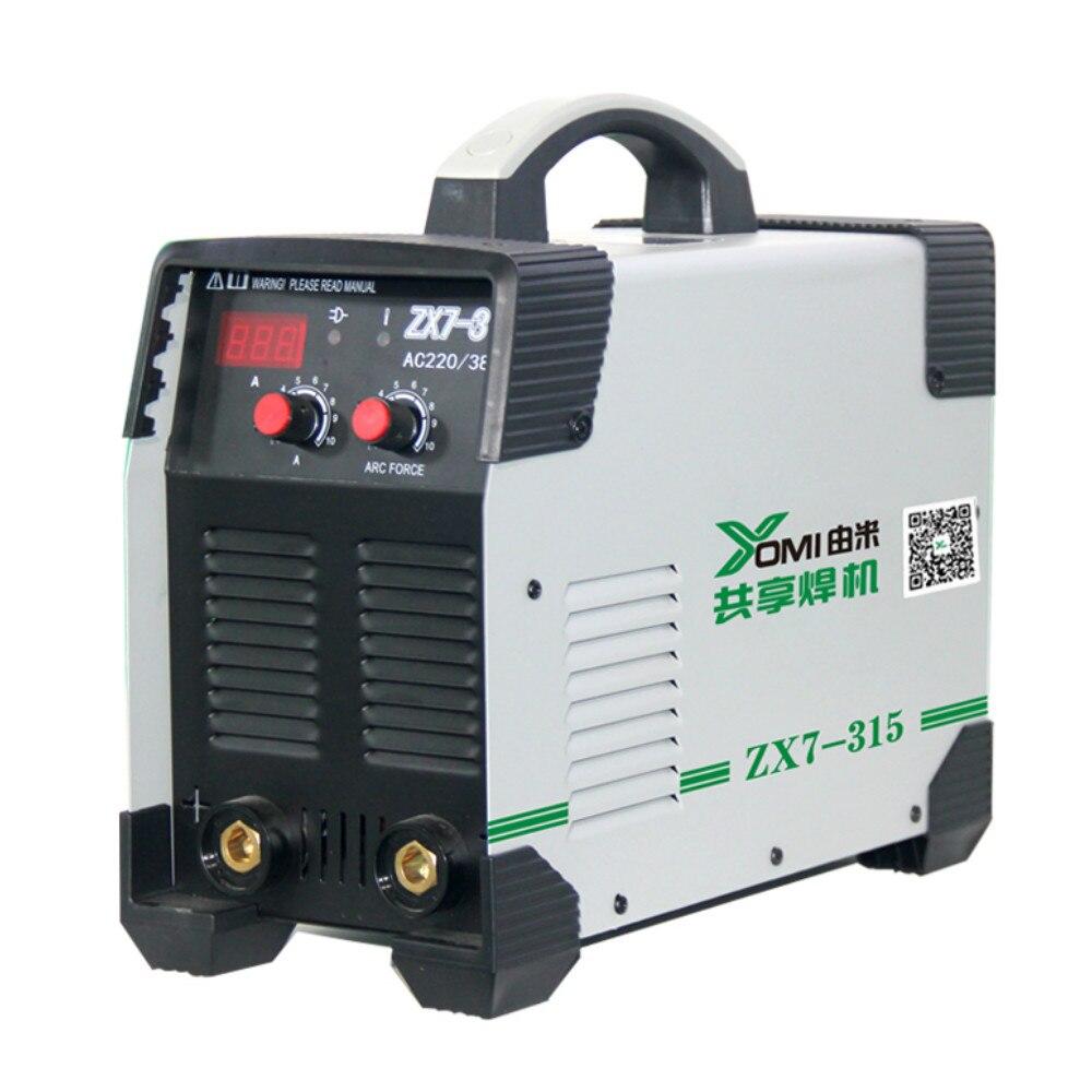 double voltage arc welders/single 110V~550V DC Inverter  weldine MMA-315 IGBT