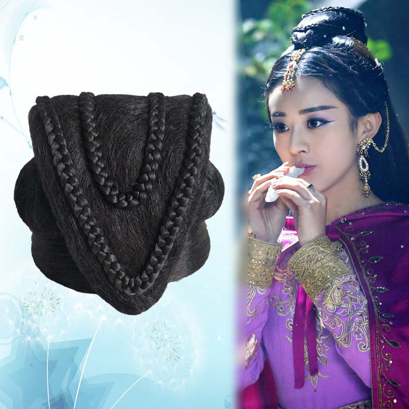 Chineses antigos acessórios para o cabelo fotografia de estúdio suprimentos princesa cosplay headwear ornamento Do Cabelo Hanfu Antiga