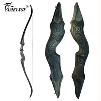 30 60bls 60 inch archery black hunter recurve bow lhrh glassfiber sheet lamination process takedown bow for hunting shooting