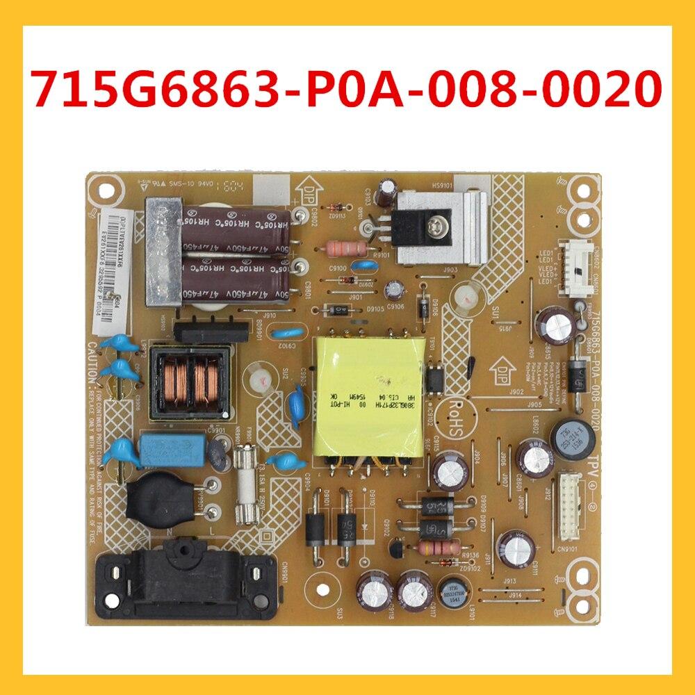 Placa de Potência Fonte de Alimentação Placa Original 715g6863-p0a-008-0020 715g6863 P0a 008 0020