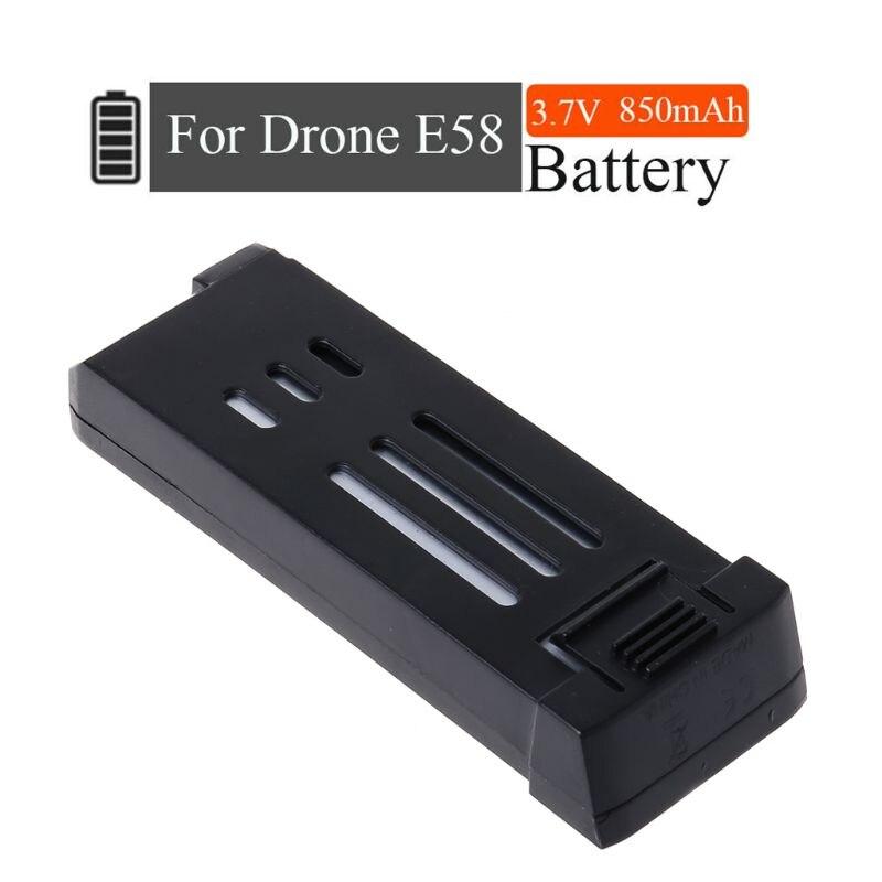 Drone de versión de actualización de 3,7 V 850mAh Lipo batería para Eachine E58 L800 JY019 S168 Drone X Pro RC Drone Quadcopter