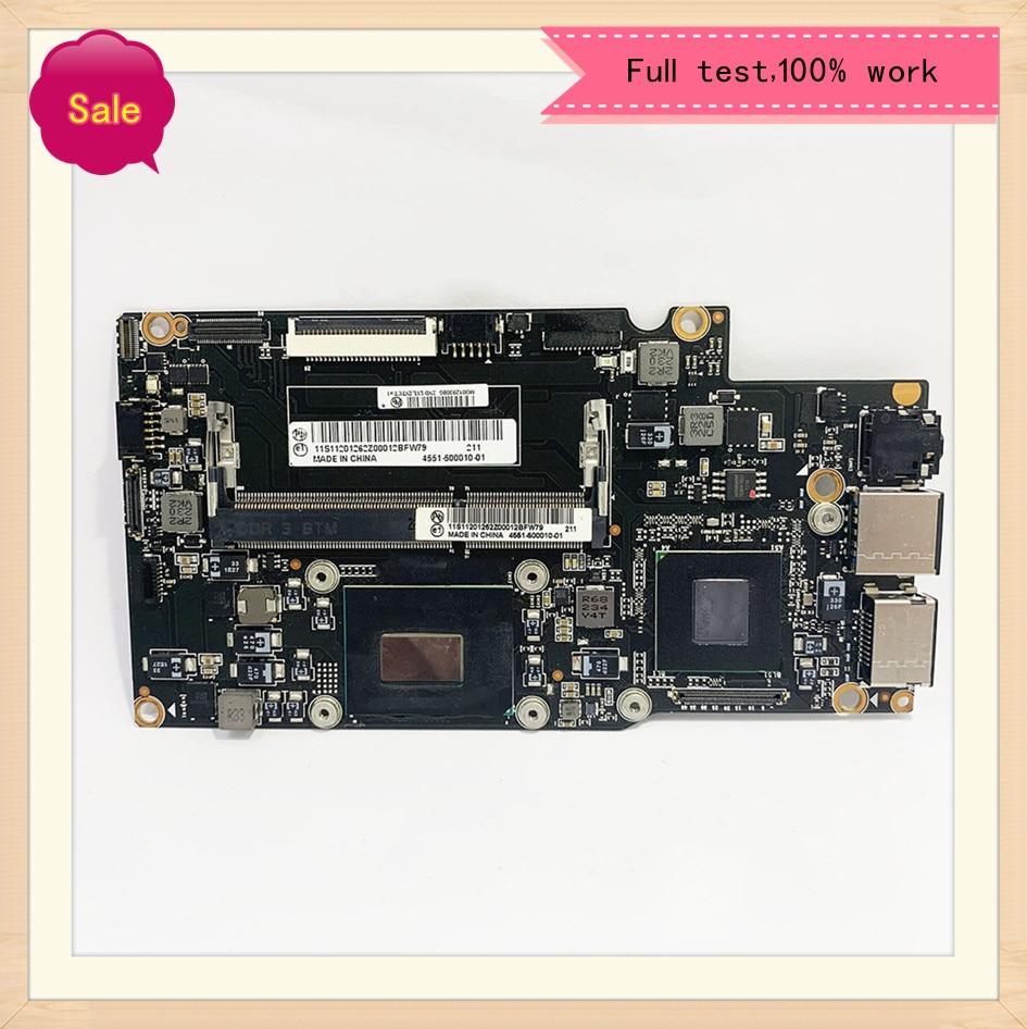 لينوفو يوغا 13 اللوحة الأم للكمبيوتر المحمول مع i5-3337u وحدة المعالجة المركزية i5-3317u FRU 90002037 90000649 QS77 اللوحة الرئيسية 100% اختبار سريع بشكل جيد