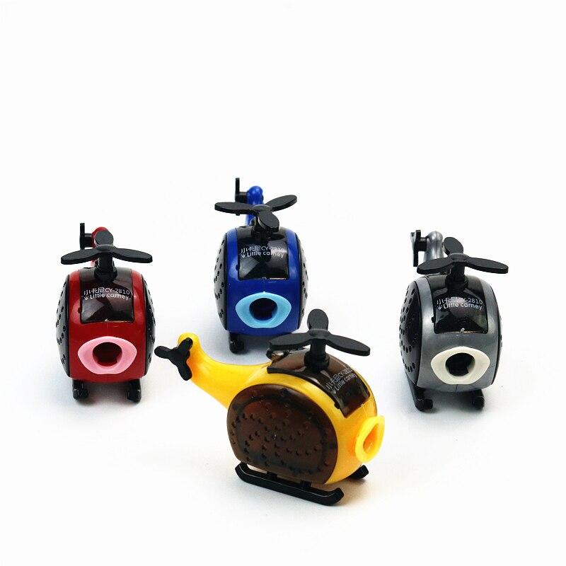 Sacapuntas con diseño de avispas en forma de helicóptero, material de papelería de aprendizaje divertido para niños