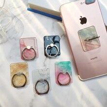 Soporte para teléfono móvil con anillo para dedo para iPhone X, 8, 7, 6, 6S, Smart Phone, IPAD, MP3, soporte de mármol para Samsung