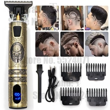 2021 Electric Hair Clipper Hair Trimmer For Men Rechargeable Electric Shaver Beard Barber Hair Cutti