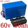Batterie Lithium-ion pour vélo et trottinette électrique 60V 60ah 2000/3000/4000W avec cellules LG