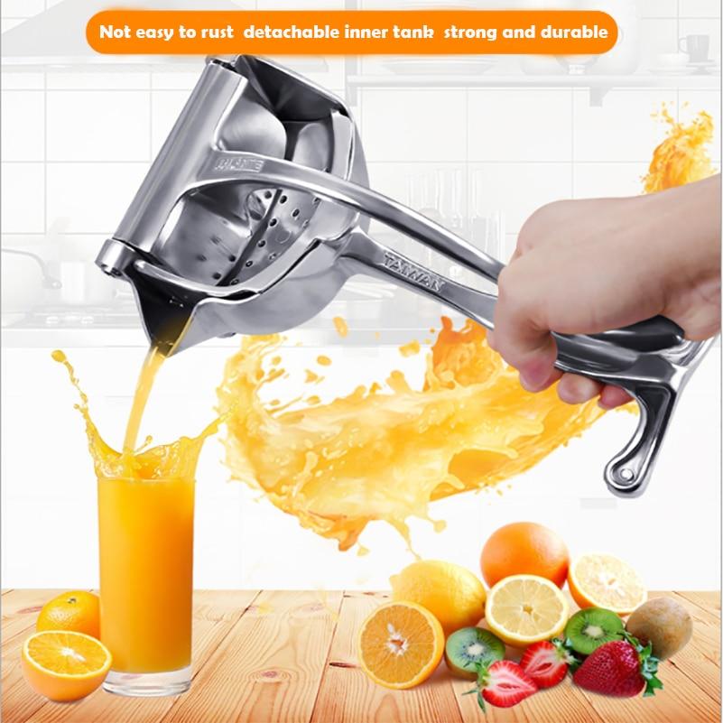 الفولاذ المقاوم للصدأ عصارة يدوية البرتقال الليمون عصير قصب السكر الطازجة عصارة المطبخ الطازجة عصارة خلاط عصارة