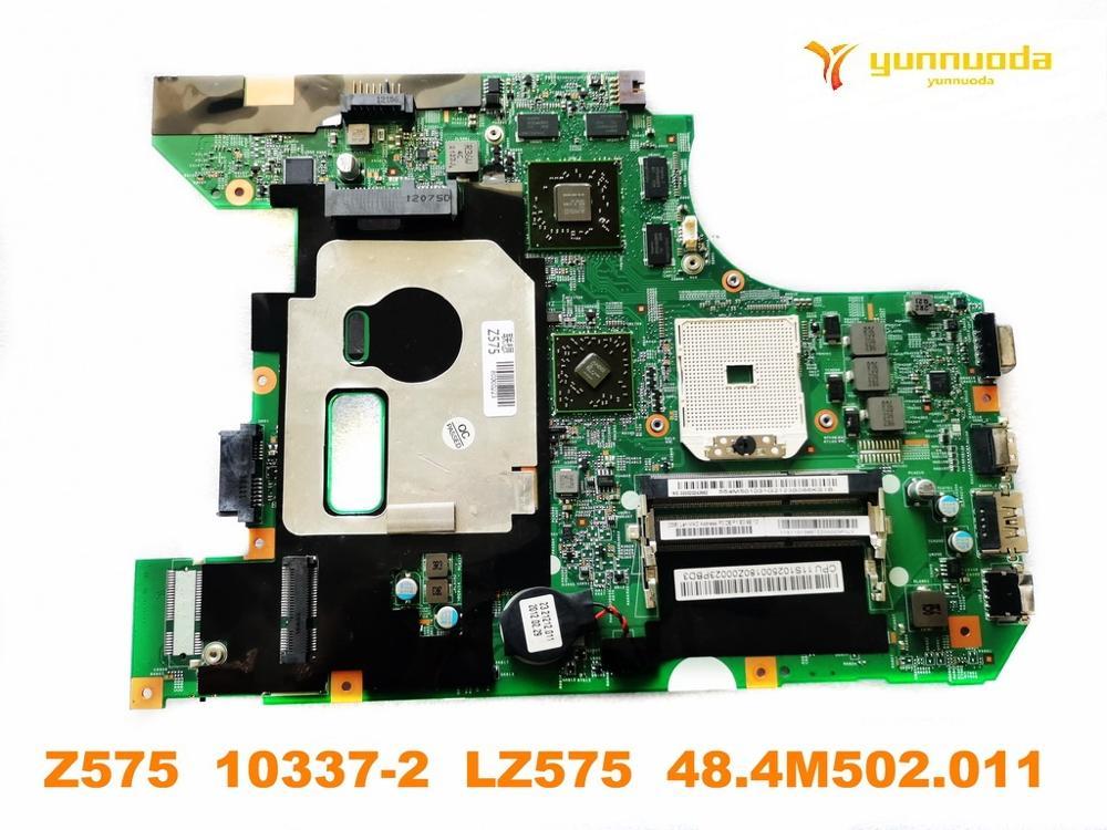 اللوحة الأم الأصلية للكمبيوتر المحمول Lenovo Z575 ، تم اختبار Z575 10337-2 LZ575 ، 48.4M502.011 ، شحن مجاني