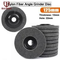 12510pcs 5inch nylon fiber polishing wheel abrasive disc 9p for dremel rotary tools dremel accessories