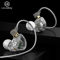3 5mm wired dual driver earphones stereo bass sport running headset hifi monitor earbuds handsfree with microphone qkz sk3