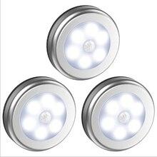 Dersoya-Sensor de movimiento PIR para debajo del gabinete, lámpara de noche inteligente, luces LED para el hogar, dormitorio, armario, cocina