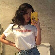 women shirt peachy tshirt art womens summer cotton white high quality t shirts custom dropshipping wholesale diy tee tops