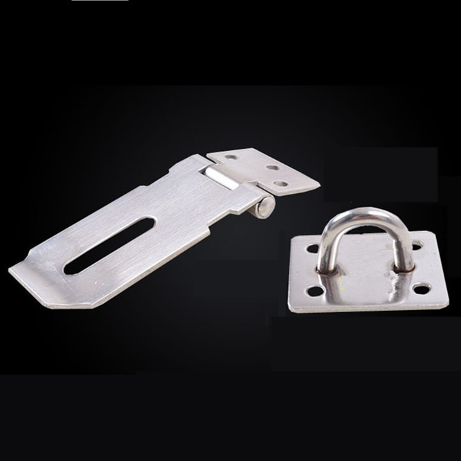 10sets/lot 3 inch Stainless Steel Toggle Latch Clasp Case Catch Lock Buckle Iron Hasp For Chest Box