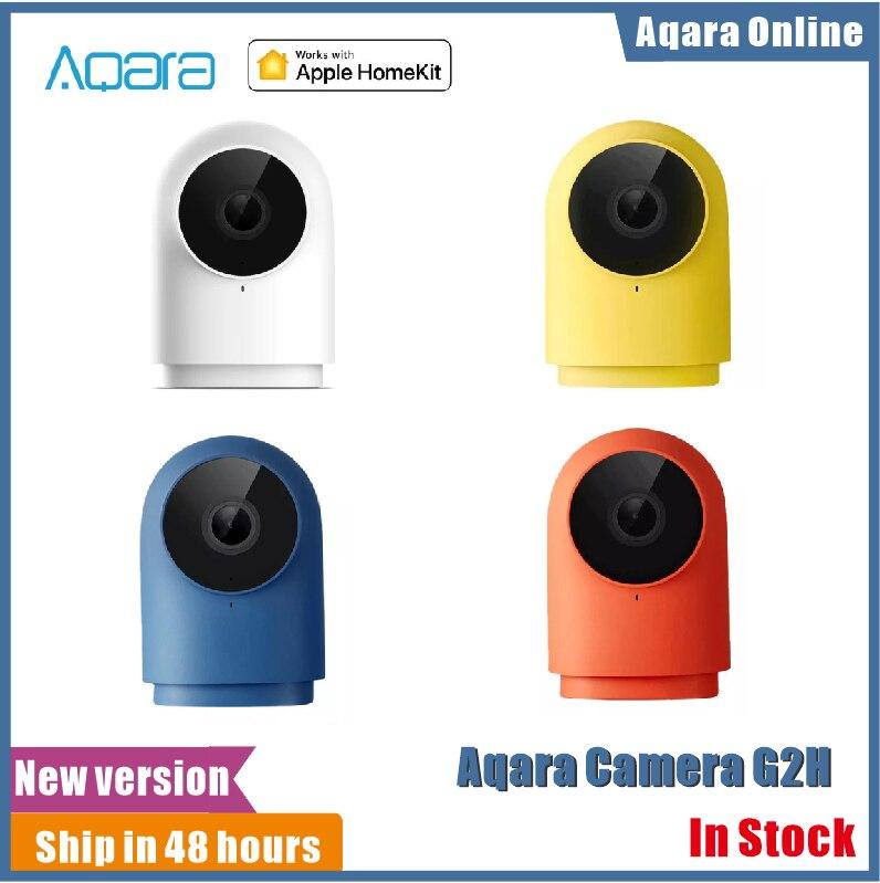 Aqara – caméra intelligente G2 H Zigbee, 1080P HD, Vision nocturne, système de sécurité domestique intelligent pour Apple HomeKit, avec surveillance et application
