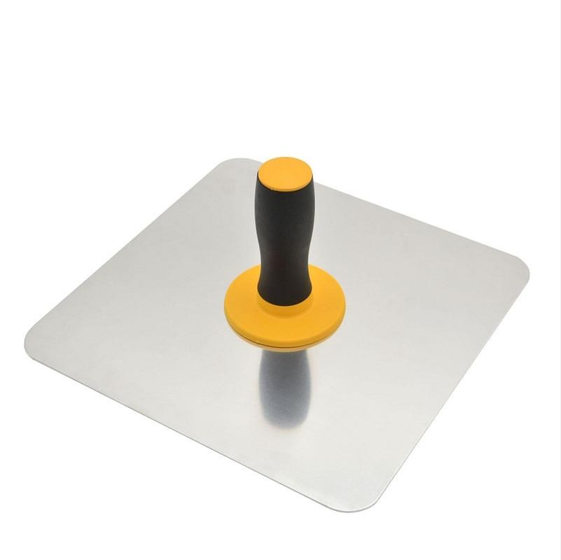 Construction Hot Aluminium Finishing Craftsman Trowel Mortar Board Plastering Tool Paint Holder With Lightweight Handle Holder