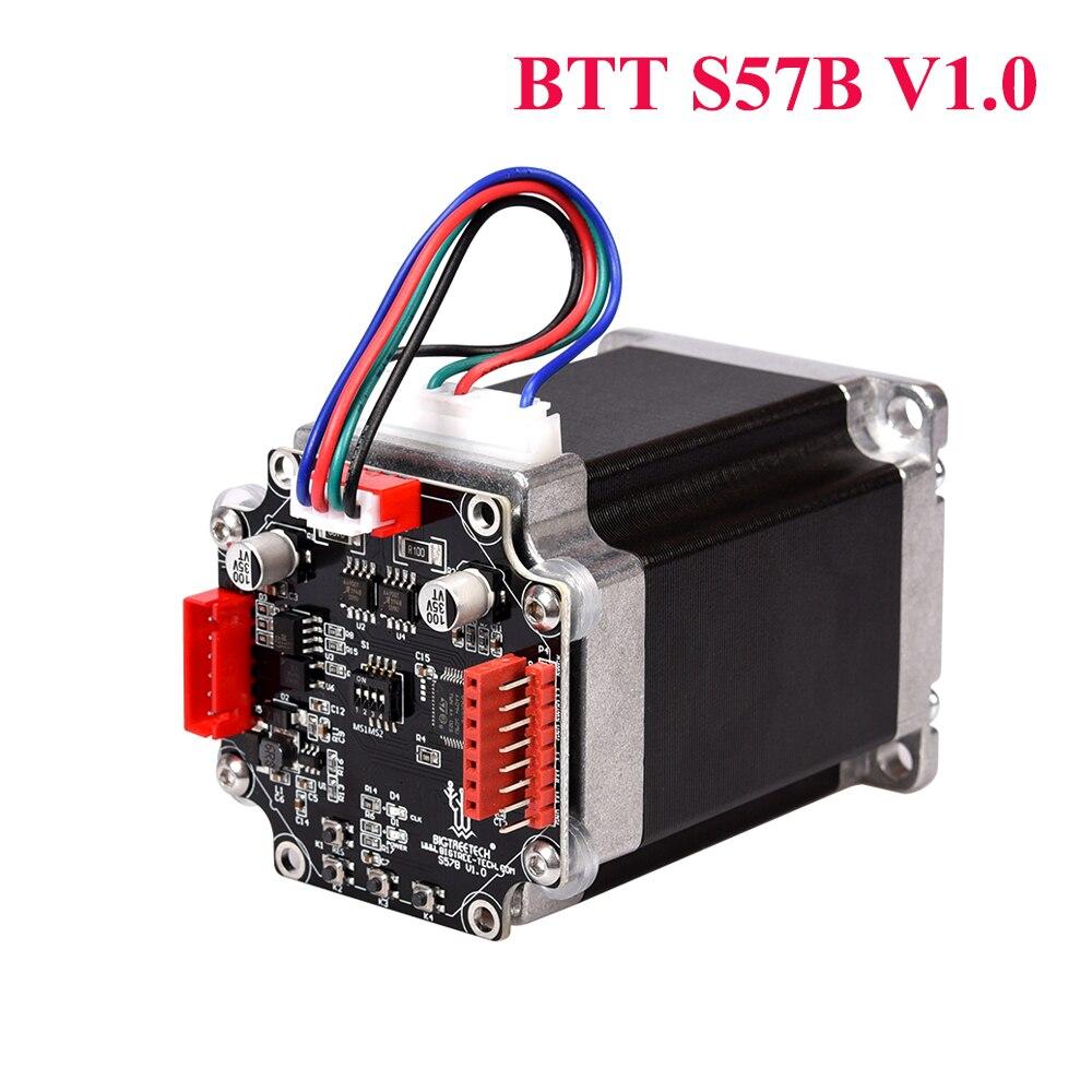 BIGTREETECH BTT S57B V1.0 لوحة تحكم للسائق ذات الحلقة المغلقة 57 محرك متدرج أجزاء طابعة OLED ثلاثية الأبعاد لـ SKR V1.4 MKS Gen L Ender3