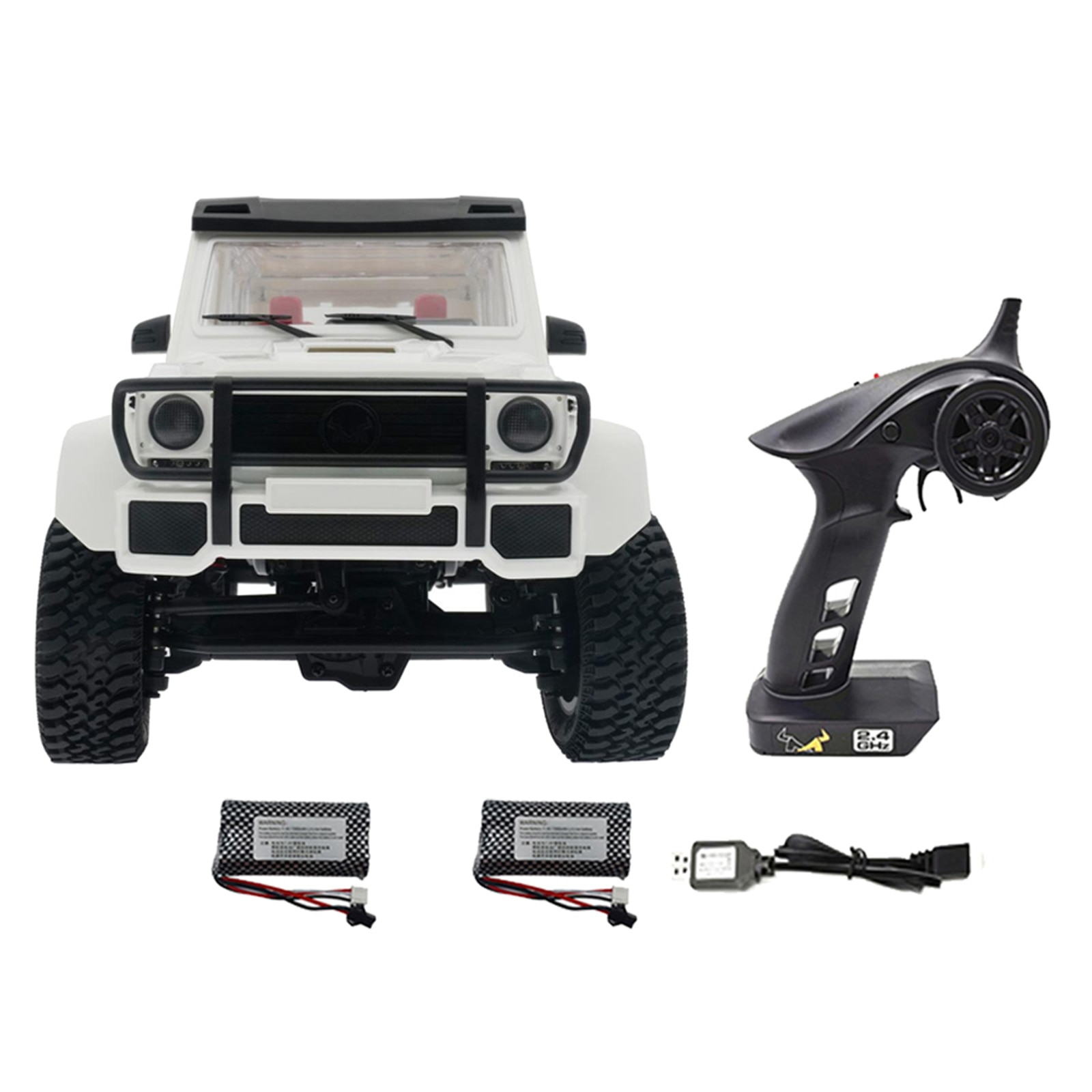 1/12 Scale 2.4G 4WD MN86 RC Car Climbing Car Crawler Off Road Truck for Kids enlarge