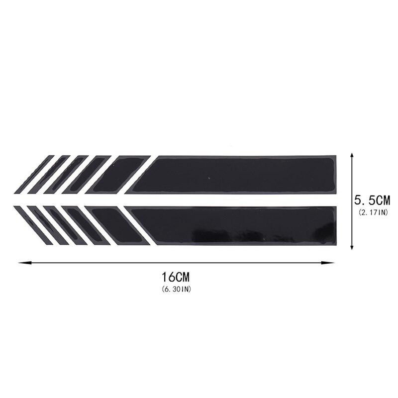 2 pçs/saco 16x2 centímetros tarja gráfico etiqueta etiqueta do carro para a Volvo S40 S60 S80 XC60 XC90 V40 V60 c30 XC70 V70