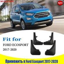 Брызговики для Ford Ecosport 2017 2020, 4 шт.