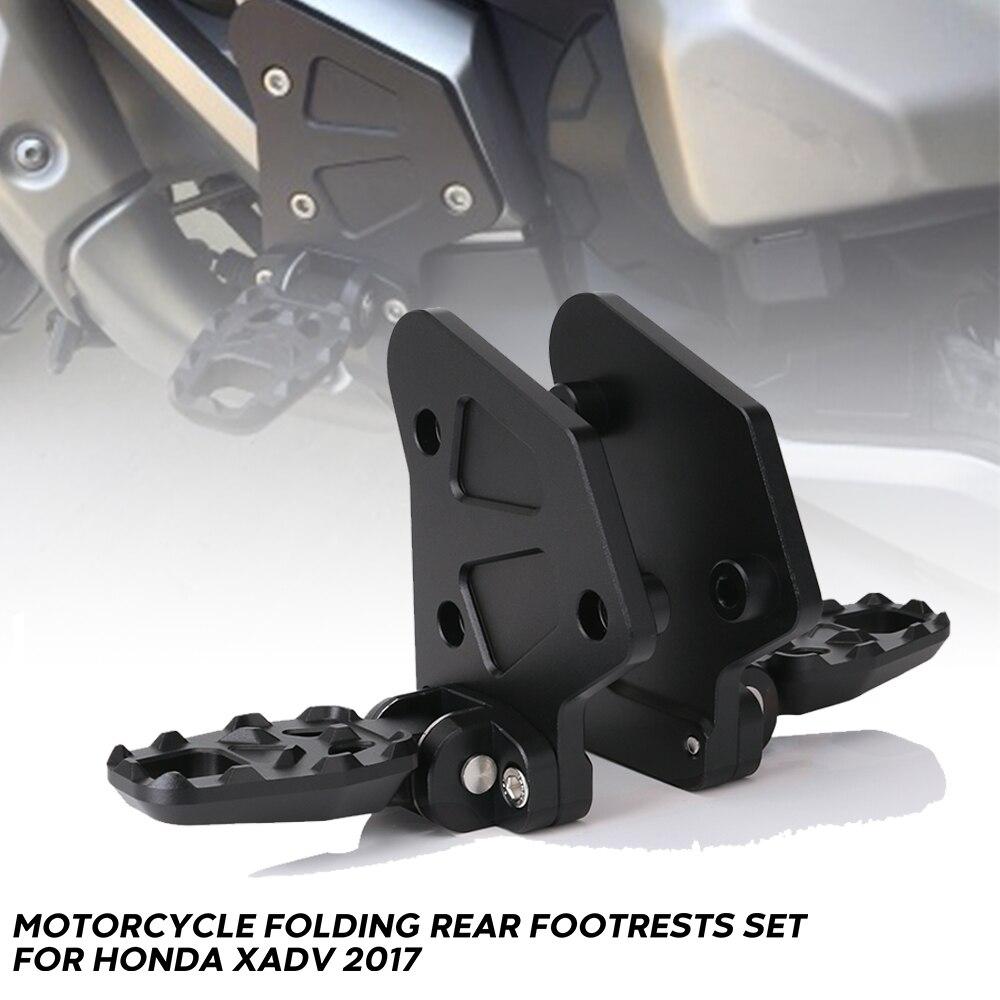 Мотоциклетные складные Задние подножки с ЧПУ алюминиевые для HONDA X ADV XADV 2017 педали