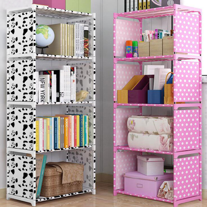 ladder bookcase black small langria 4 tier shelves ladder bookcase storage and display standing shelving unit 34 x30 cm x 148cm 5-Shelf Bookcase Book Shelves Children Bookshelf Storage Bin Books Display Shelving Unit Organizer  Storage Shelves