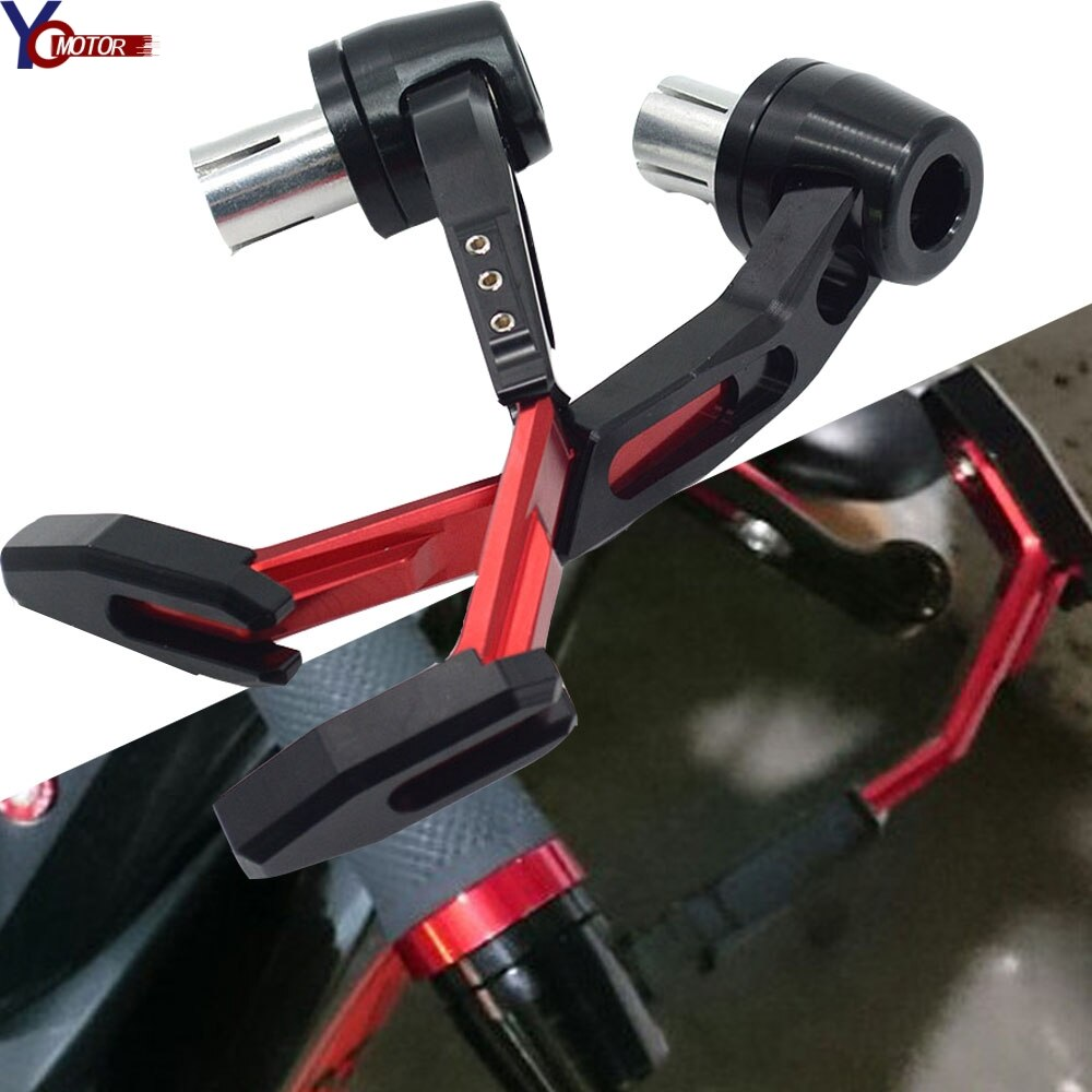 Motorcycle accessories Handlebar grips Guard Brake Clutch Lever Protector  Dirt Bike Handguard For Yamaha YZFR1 R3 125