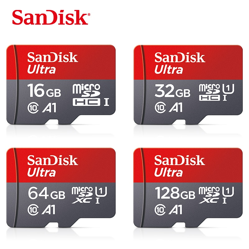100% original Sandisk class 10 sd card microsd tf card 16 gb 32 gb 64 gb 128 gb 256 gb micro sd memory card