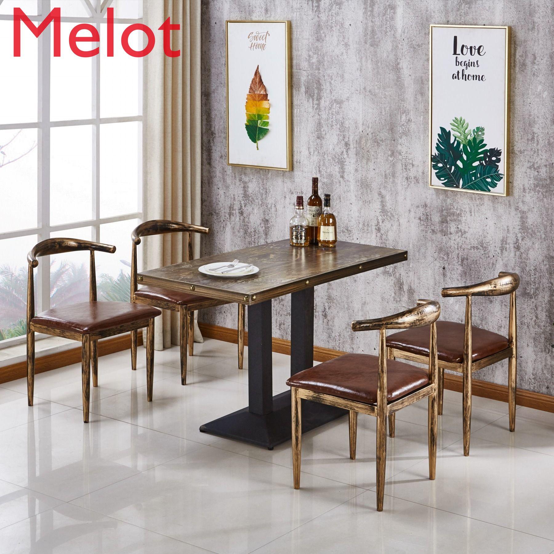 الراقي الرجعية الحديد المطاوع شريط قديم الشواء الجدول وكرسي حديقة المنزل شرفة طاولة عرضية وكرسي الجمع