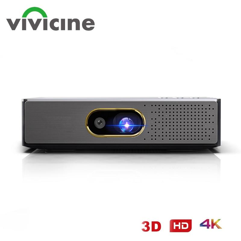 فيفيسين-جهاز عرض واي فاي ، P14 ، أندرويد 9.0 5G ، دعم ثلاثية الأبعاد 4K, عارض تركيز تلقائي ، دعم المكتب والنهار والمسرح المنزلي لعبة فيديو
