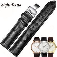 Correas de reloj de piel de becerro de 19mm, 20mm, 22mm para Tissot Le Locle T41 T006 PRC200, correa de reloj, pulsera de reloj, correa de reloj para hombres 1853
