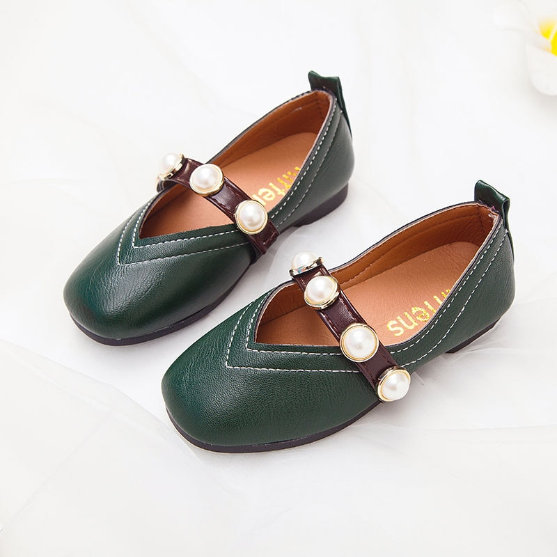 Spring and Autumn Girls Shoes Girl Princess Shoes Korean Children's Students Shoes Hot Sale Kids Sho