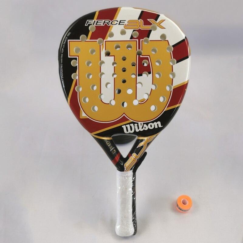 New Adult Professional Full Carbon Beach Tennis Paddle Racket EVA Face Raqueta Unisex Equipment  -40