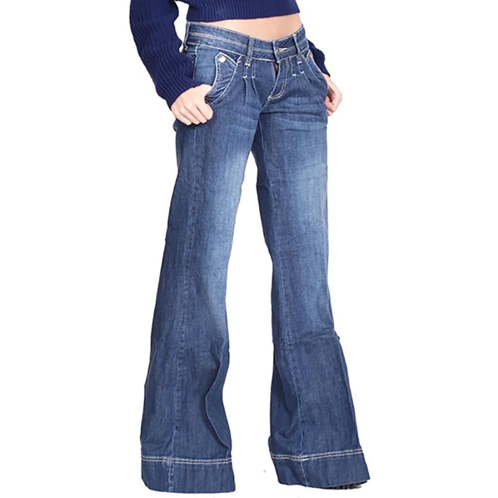 Модные Женские однотонные пикантные облегающие брюки с высокой талией, джинсовые брюки с высокой талией, джинсовые брюки